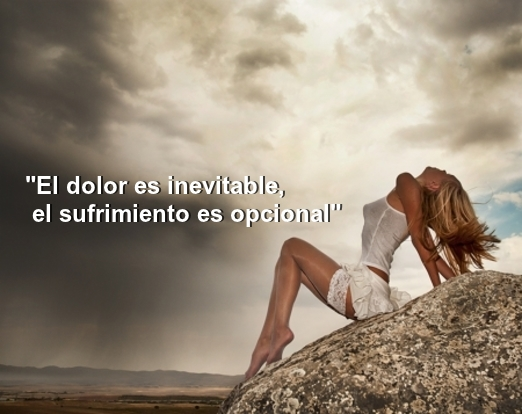 """""""El dolor es inevitable, el sufrimiento es opcional"""" -Buddha Frases"""