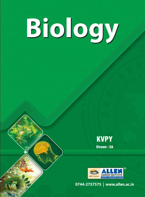 KVPY Stream-SA Biology : For JEE and NEET Exam PDF Book
