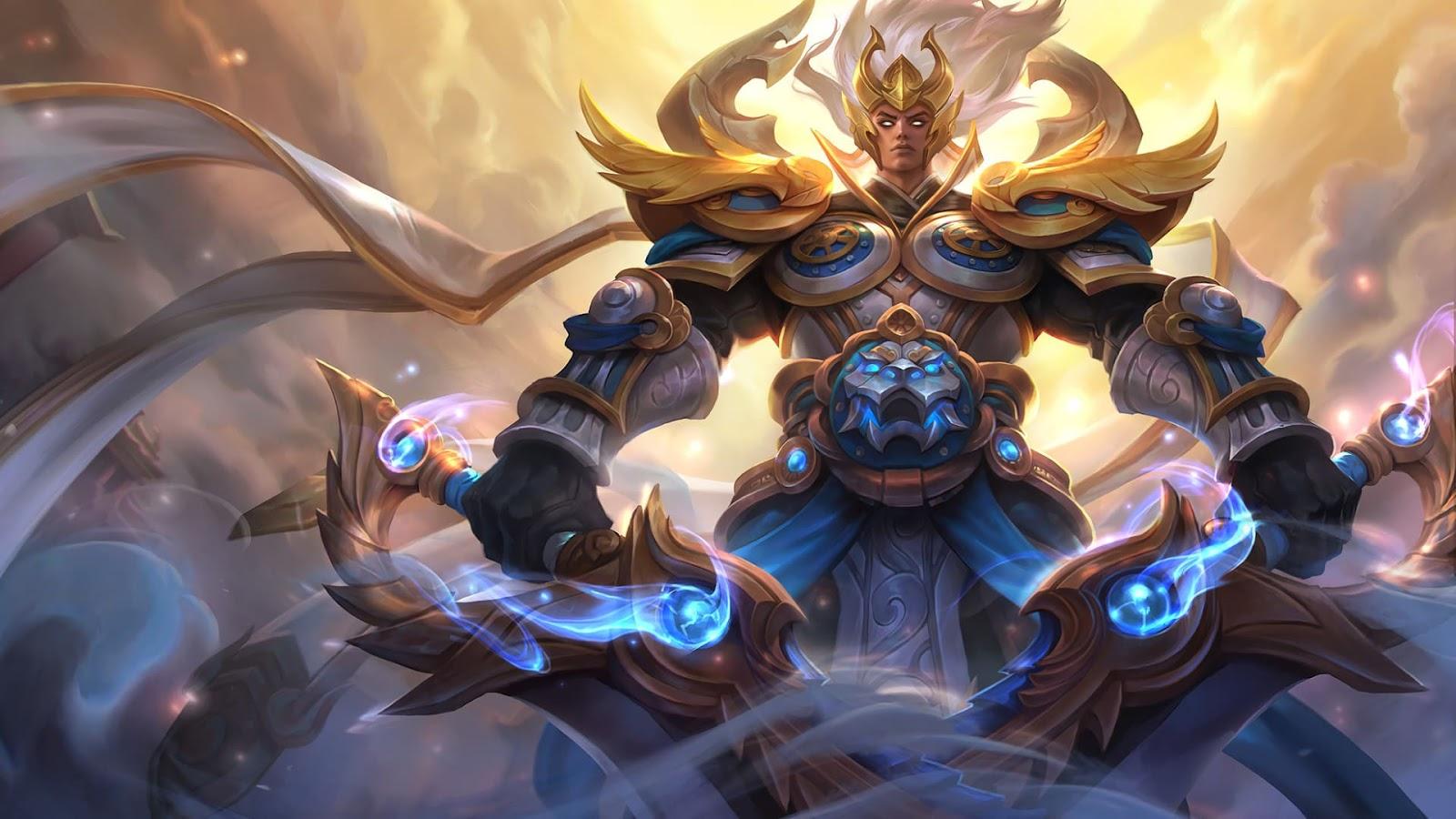 Wallpaper Martis God of War Skin Mobile Legends HD for PC