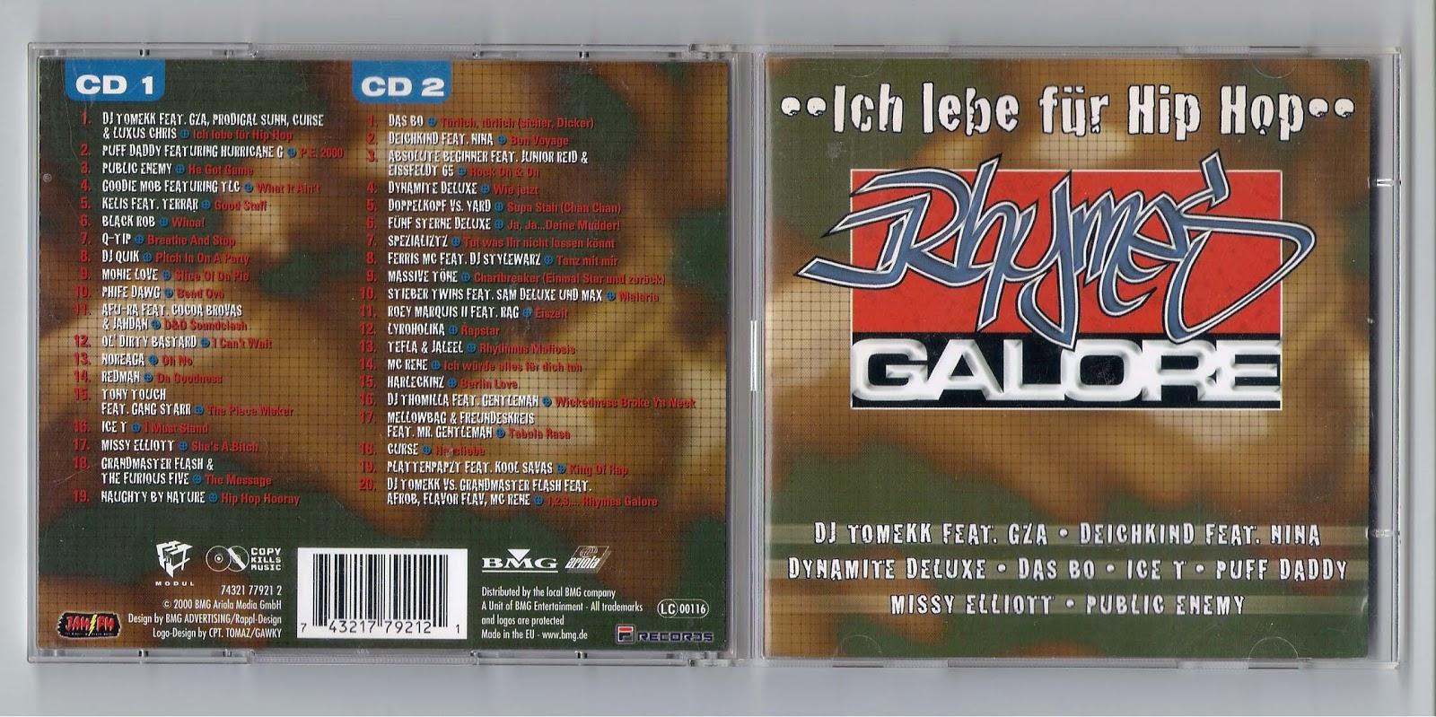 Deutsch/German Hip-Hop: VA - Rhymes Galore: Ich Lebe Für Hip