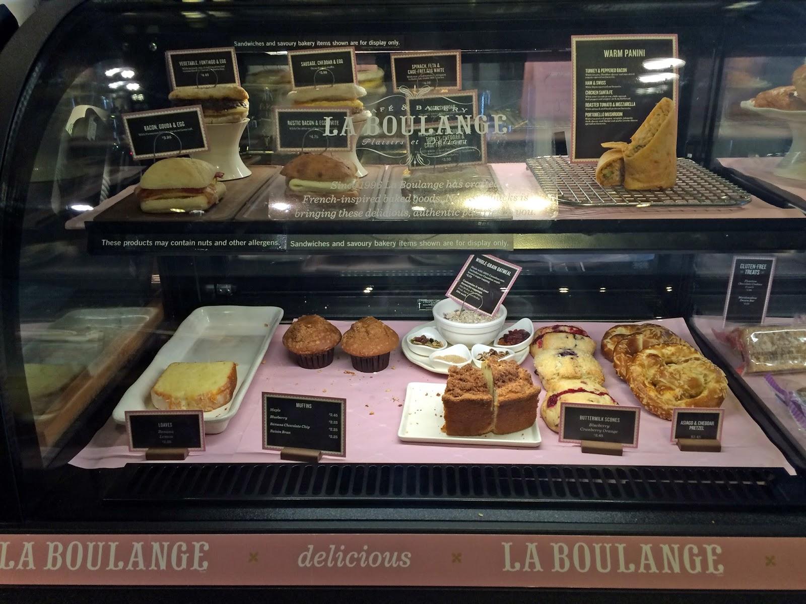 starbucks la boulange bakery canada