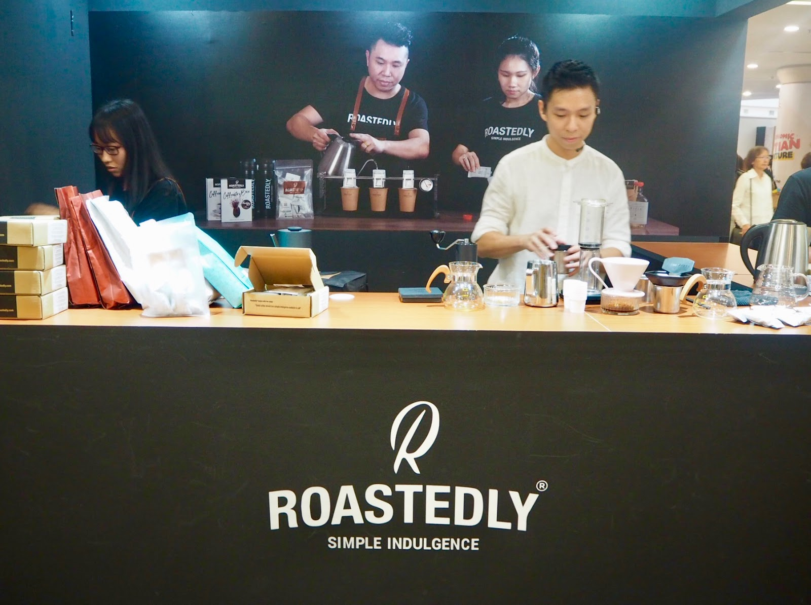 [Event] Roastedly ® hosts Malaysia's world coffee champions Regine Wai and Jason Loo at Malaysia Coffee Fest 2019