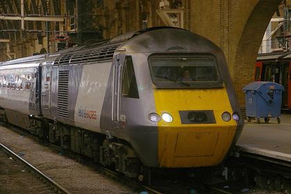 В Англии потерялся поезд с пассажирами