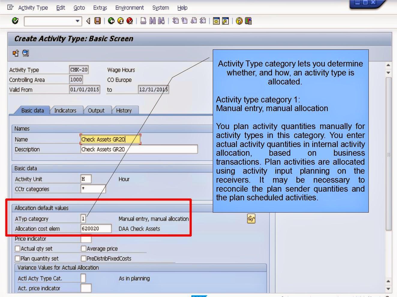 青蛙SAP分享 Learning & Examination: Controlloing Cost Object