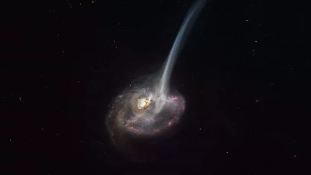 ALMA allows scientists to see the beginning of the extinction of the galaxy for the first time