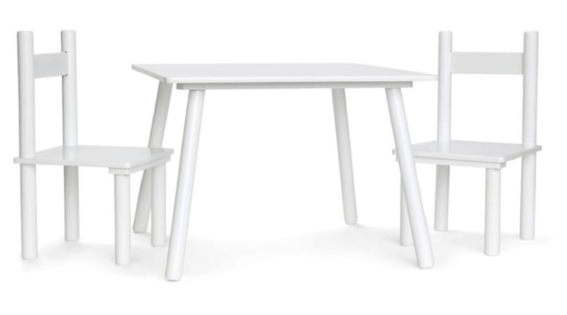 kmart kids table and chairs