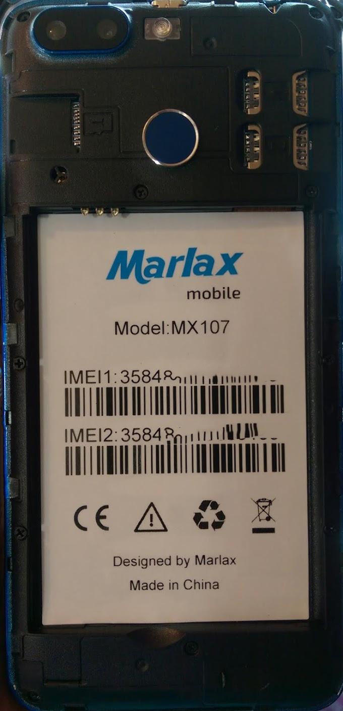 MARLAX MX107 FLASH FILE FIRMWARE STOCK ROM