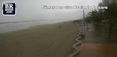 Câmera ao vivo Praia do Caiçara Praia Grande