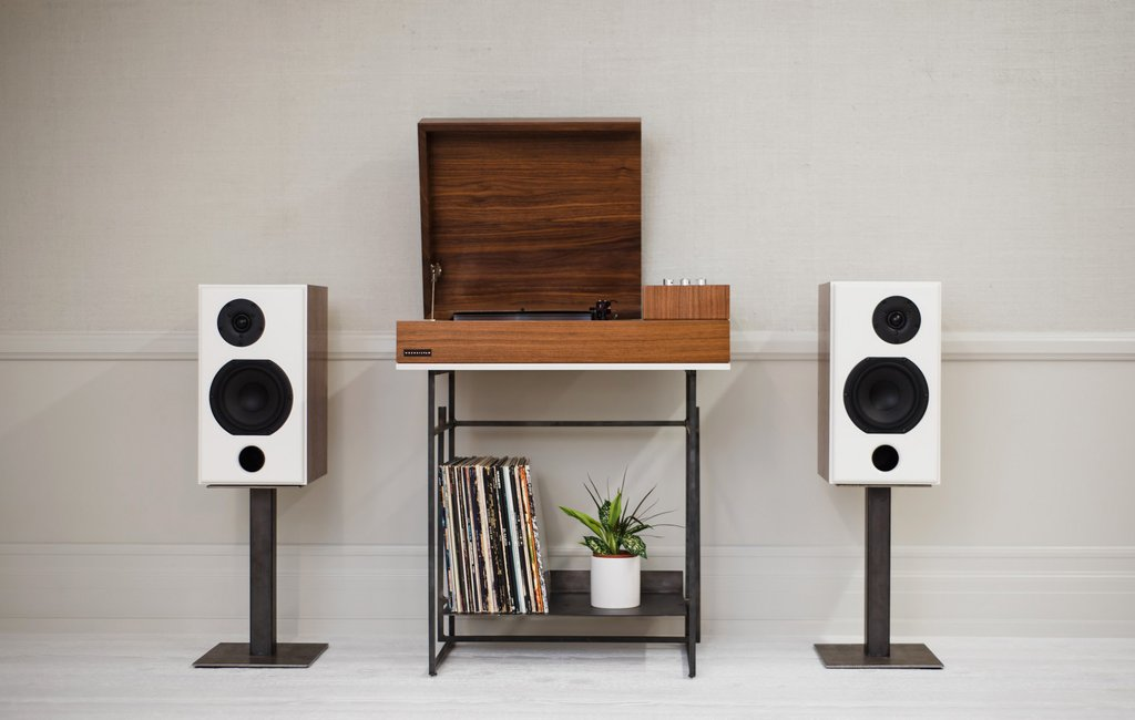 Wrensilva Loft HiFI Desk | The Modern HiFi Record Console