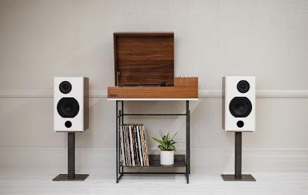 Wrensilva Loft HiFI Desk | The Modern HiFi Record Console