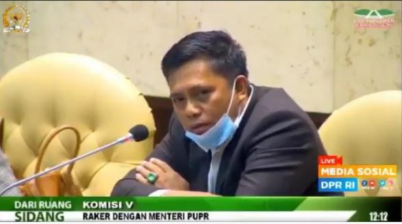 Raker DPR-RI Dengan Menteri PUPR, Sofyan Ali Suarakan Peningkatan Infrastruktur Pesantren
