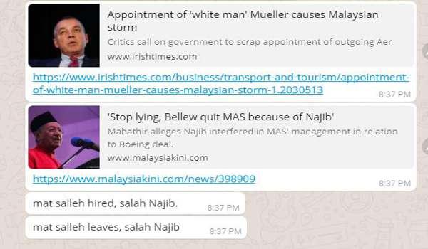 [Video] Peter Bellew Jawab Sebab Tinggalkan MAS: Tiada Campur Tangan - Mahathir Yang Meroyan