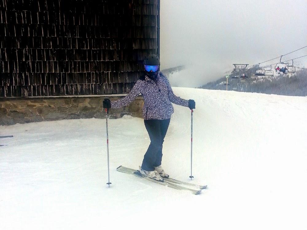 Sweaty Betty ski gear in Austria