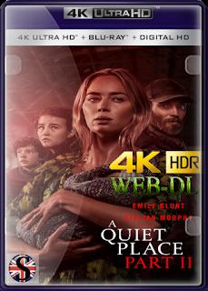 Un Lugar En Silencio Parte II (2021) WEB-DL 4K UHD HDR SUBTITULADO