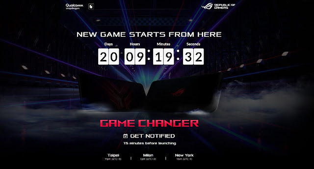 Asus ROG Phone 3 To Be Announced With Snapdragon 865 plus, 16GB RAM, 6000mAh battery & More