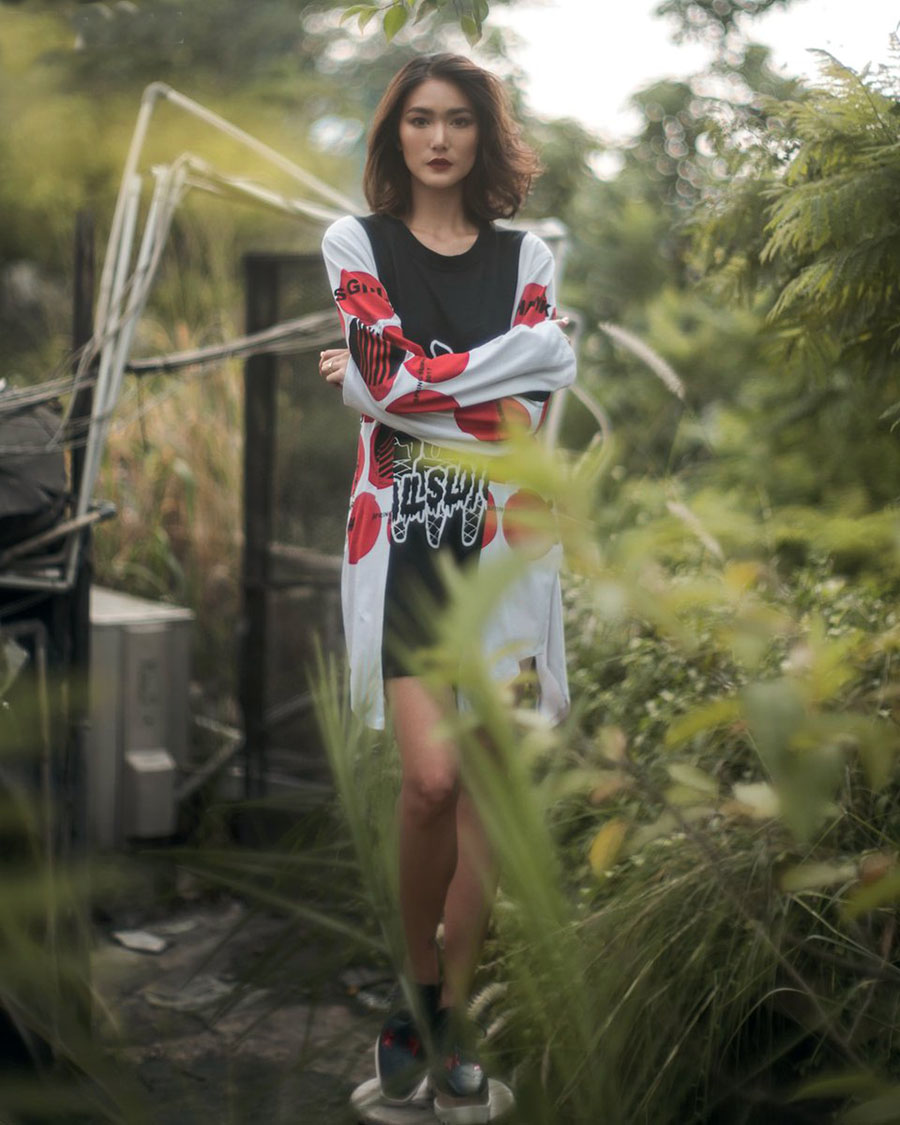 Dominique Diyose model Panlok IGO