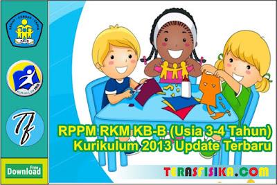 RPPM RKM KOBER B (3-4 Tahun) Kurikulum 2013 Semester 1