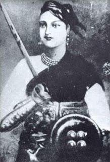 lakshmibai - jhansi ki rani - a leader of 1857 revolution of India