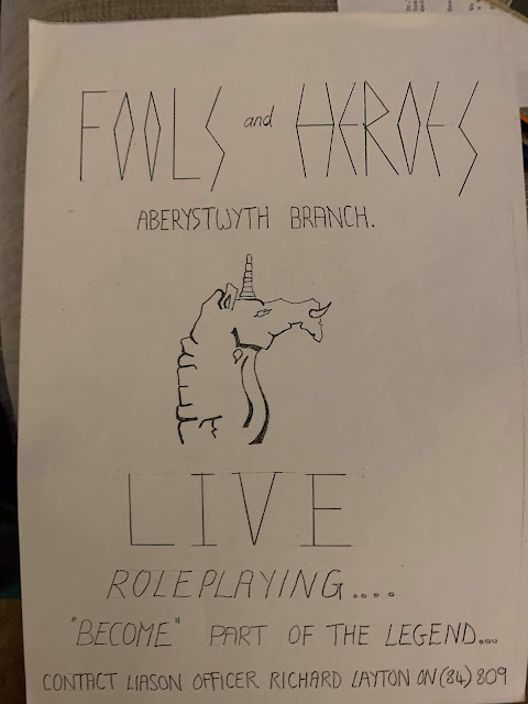 Fools and Hero's poster