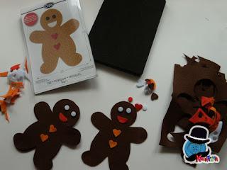 fustella Gingerbread per bigshot sizzix