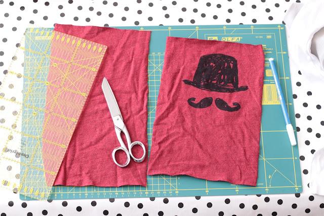 faire de mouchoirs en tissu à partir de vêtements zero dechet