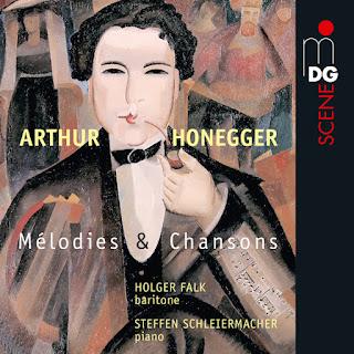 Arthur Honegger Mélodies et Chansons; Holger Falk, Steffen Schleiermacher; MDGArthur Honegger Mélodies et Chansons; Holger Falk, Steffen Schleiermacher; MDG