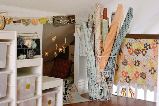 Studio, Storage, Fabric, Cozy Nook, Bonnie Christine, Callie Lynch