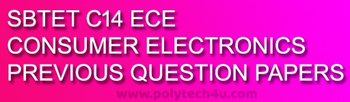 SBTETAP CONSUMER ELECTRONICS OLD QUESTION PAPERS C-14 - POLYTECH4U