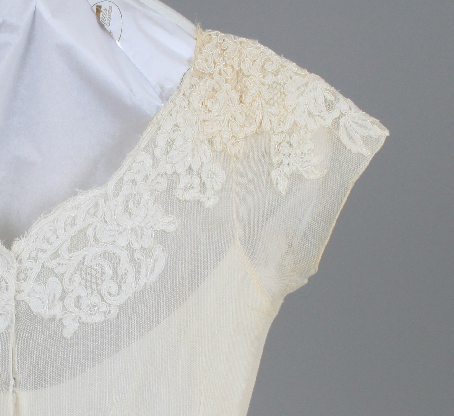 Restoration Wedding Gown: Bridal Gown Cleaning & Preservation: Follow A 50-year-old