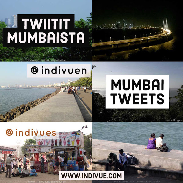 Indivue ja Twiittejä Mumbaista