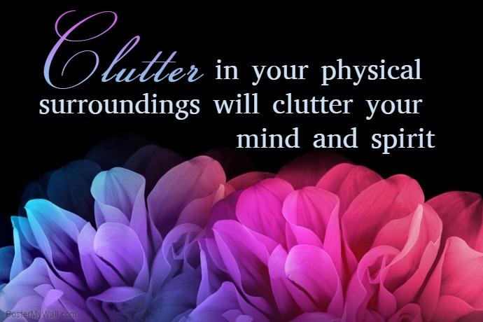 de clutter the soul
