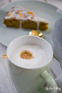 So schmeckt die Pause: Mit dem Rezept für den veganen Karottenkuchen mit Apfel und Kokosmilch-Frosting