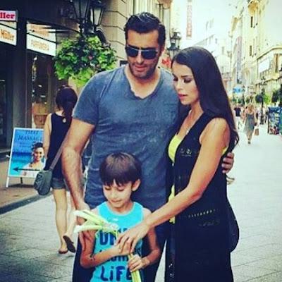 باسم ياخور وزوجته واولاده