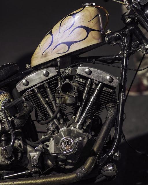 Harley Davidson Shovelhead By Crib Motorcycle Hell Kustom