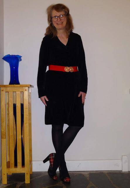 styling a sweater dress
