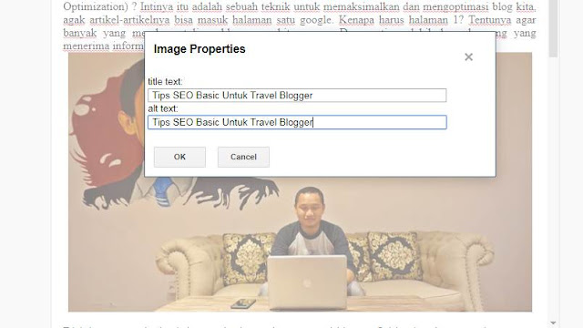 Tips SEO Basic Untuk Travel Blogger Indonesia