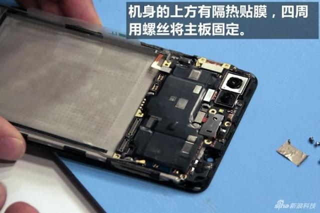 Dibongkar, Inilah Susunan Hardware Smartphone Fingerprint Vivo X20 Plus UD