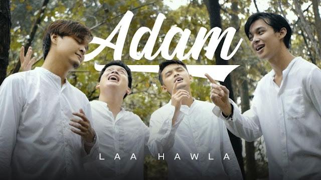Lirik lagu ADAM Laa hawla
