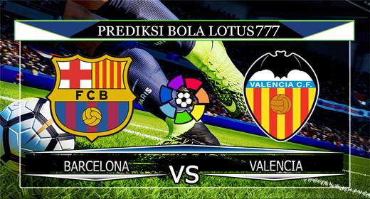 PREDIKSI BOLA BARCELONA VS VALENCIA 15 SEPTEMBER 2019