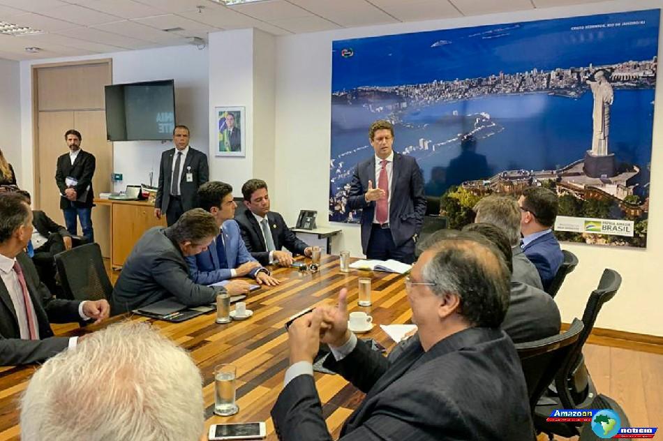 Governadores da Amazônia Legal se reúnem com ministro do Meio Ambiente