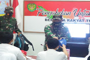 Pangdam III/Siliwangi Tinjau Proses Belajar Daring di Koramil 0201/Serang