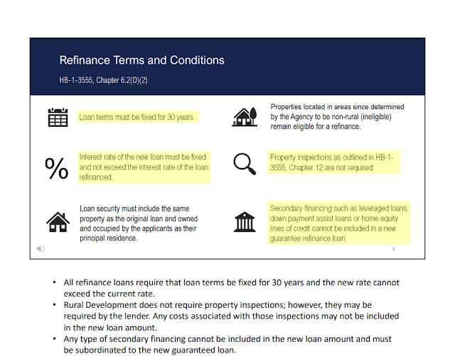 treamlined refinance,ref,refinance,Kentucky Rural Housing and USDA Loans,kentucky rural housing refinance guide,Streamline Assist Refinance,