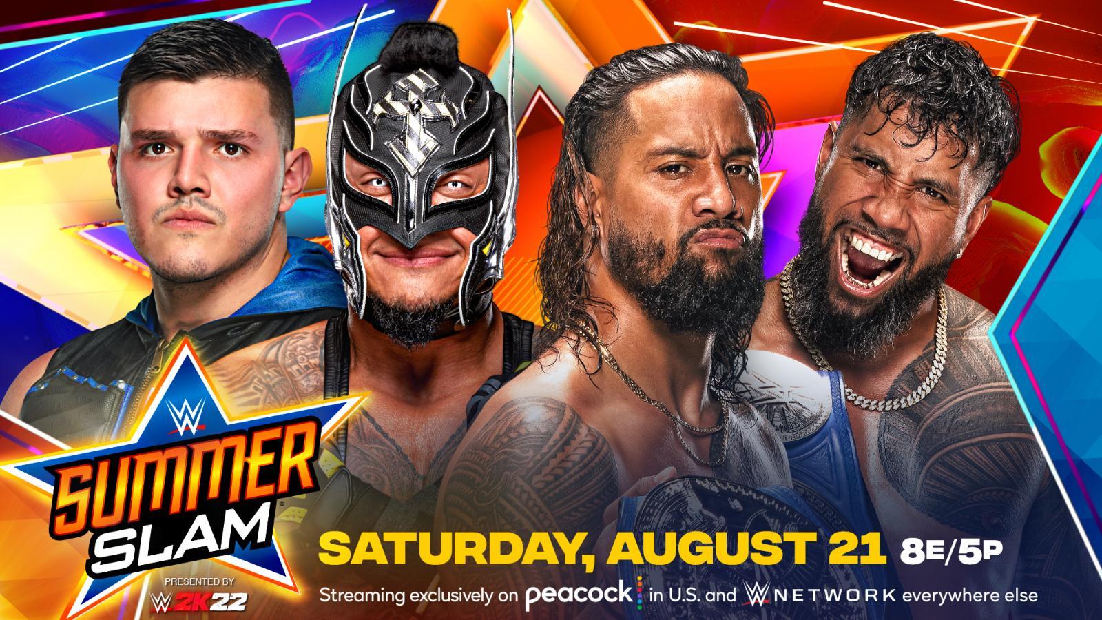 Combate por título é anunciado para o WWE SummerSlam