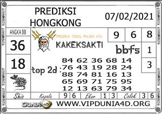 Prediksi Togel HONGKONG DUNIA4D 07 FEBRUARI 2021