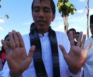 Pak Jokowi - Simian Line Kiri