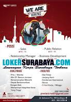 We Are Hiring at First Indo Group Surabaya Januari 2020