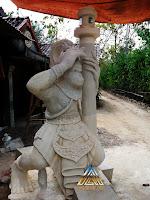 Patung kera sakti batu paras jogja / batu putih