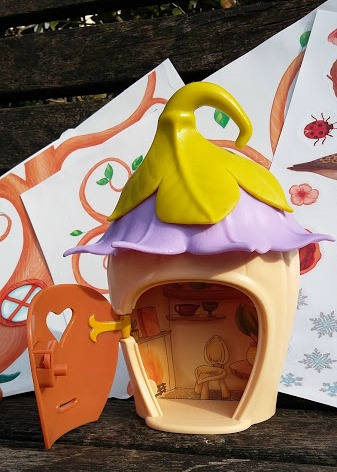 Interplay My Fairy Garden Secret Fairy Door - Blog Review House Interior