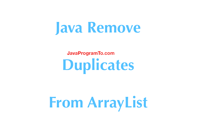 How to remove all duplicates from a List in Java 8?