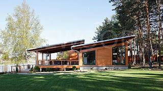 Bentuk Atap Rumah model Gergaji
